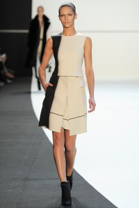 Akris- Awesome colour pop with simple gentle tones. Ankle boots making a strong appearance.