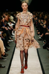 Givenchy - Butterflies are in. Love the waist belt.