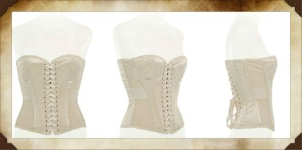 Merry Widow Sweetheart Corset - Image courtesy of Arwen Garmentry