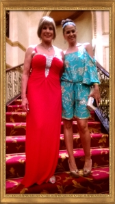 Dawn Lindberg wearing The Wedding Shop with Zuraida Jardine wearing Gert Johan